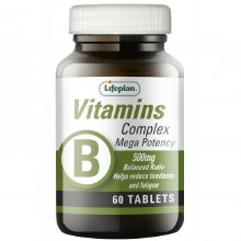 Lifeplan Vitamin B Complex 500mg (30 Tablets)