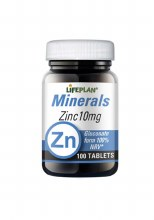 Lifeplan Zinc 10mg 100 Tablets