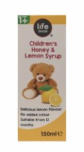LB Kids Honey Glyc Syrup