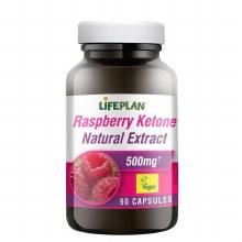 Lifeplan Raspberry Ketone 500mg (90 Capsules)