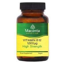 Macanta Vitamin B12 1000ug Vegan 30 Capsules