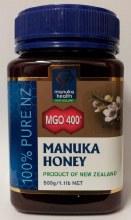 Manuka Health MGO400 Manuka Honey 500g