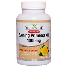 Natures Aid Evening Primrose Oil 1000mg (90 Capsules)
