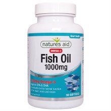 Natures Aid Omega-3 Fish Oil 1000mg