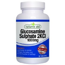 Natures Aid Glucosamine sulphate 2kcl 1000mg