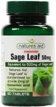 Nature's Aid Sage Leaf 50mg 90 Tablets