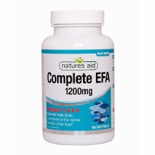 Natures Aid Complete EFA 1200mg 90 capsules