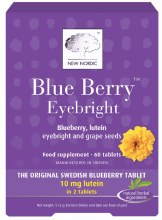 New Nordic Blue Berry Eyebright (60 Tablets)