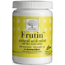 New Nordic Frutin Natural Acid Relief 60 Tablets