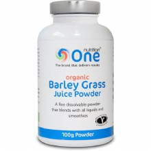 One Nutrition Organic Barley Grass Juice Powder 100g