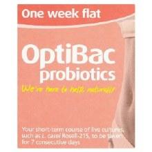 Optibac One Week Flat 7s