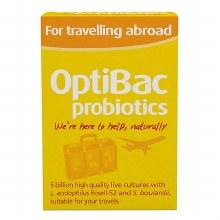 Optibac Travelling Abroad 20's
