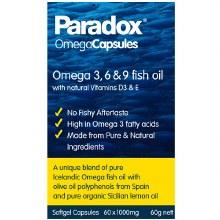 Paradox Omega 3, 6, 9 (60 Capsules)