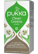 Pukka Clean Greens Powder 120g