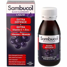 Sambucol Extra Defence Black Elderberry Liquid 120ml