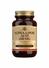 Solgar Alpha-Lipoic Acid 200mg 50 Vegetable Capsules