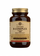 Solgar Vitamin B Complex ''50'' High Potency 50 Capsules