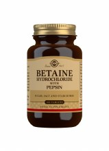 Solgar Betaine Hydrochloride with pepsin (100 Tablets)
