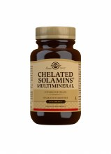 Solgar Chelated Solamins Multimineral (90 Tablets)