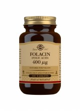 Solgar Folacin - Folic Acid 400ug (100 Tablets)
