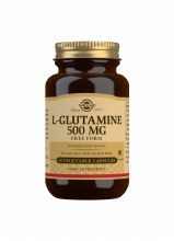 Solgar L-Glutamine 500mg Free Form (50 Capsules)
