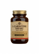 Solgar L-Carnitine 500mg Free Form (30 Tablets)