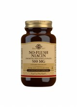 Solgar No-Flush Niacin - Inositol Hexanicotinate 500mg (50 Capsules)
