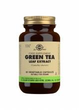 Solgar Green Tea Leaf Extract - Camellia Sinensis (60 Capsules)
