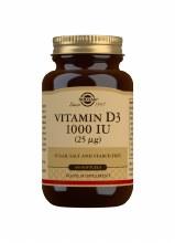 Solgar Vitamin D3 1000IU 25ug 100 Softgels