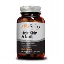Solo Hair, Skin & Nails 60 Vegetarian Capsules