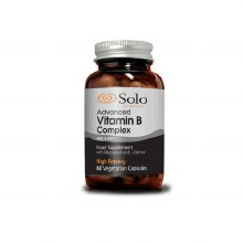 Solo Advanced Vitamin B Complex 60 Vegetarian Capsules