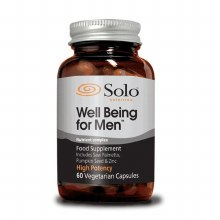 Solo Well Being For Men 60 Vegetarian Capsules