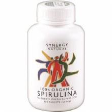 Synergy Spirulina 500mg 200 Tablets