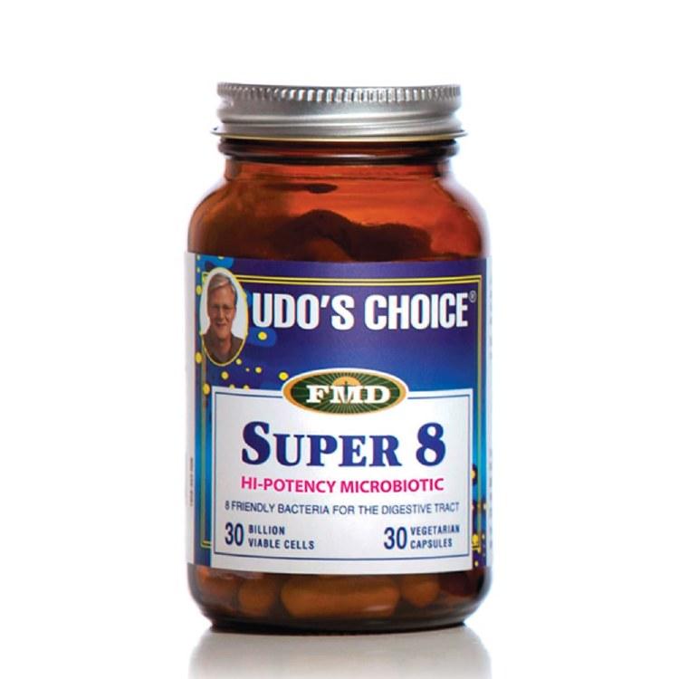 Udo`s Choice Super 8 Microbiotics 30 Capsules