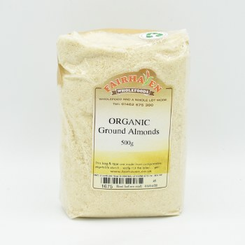 Almonds Ground Org 500g