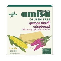 Amisa Quinoa Fibre+ Crispbread