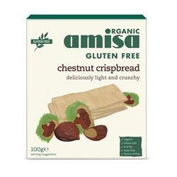 Organic Chestnut Crispbread 100g