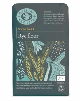 Doves Organic Wholegrain Rye Flour