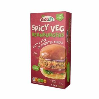 Goodlife Spicy Bean Burgers