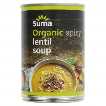 Suma Org Spicy Lentil Soup New