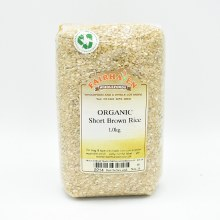 Short Brown Rice Org 1000g