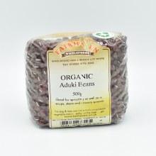 Aduki Beans Dry Org 500g