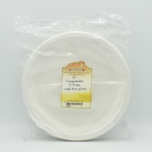 Biodegradable Plates 9inch 20