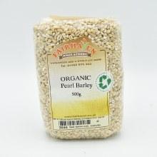Pearl Barley Grain Org 500g