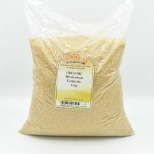 Couscous Wholewheat Org 2500g