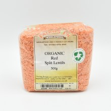 Lentils Red Split Org 500g