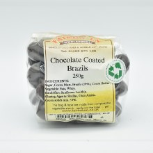 Chocolate Coated Brazils 250g
