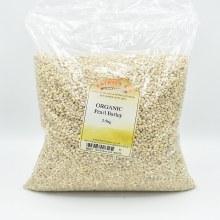Pearl Barley Grain Org 2500g