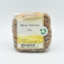Almonds Whole  250g