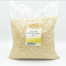 Short Brown Rice Org 2500g
